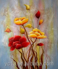 home decoration oil painting flower picture