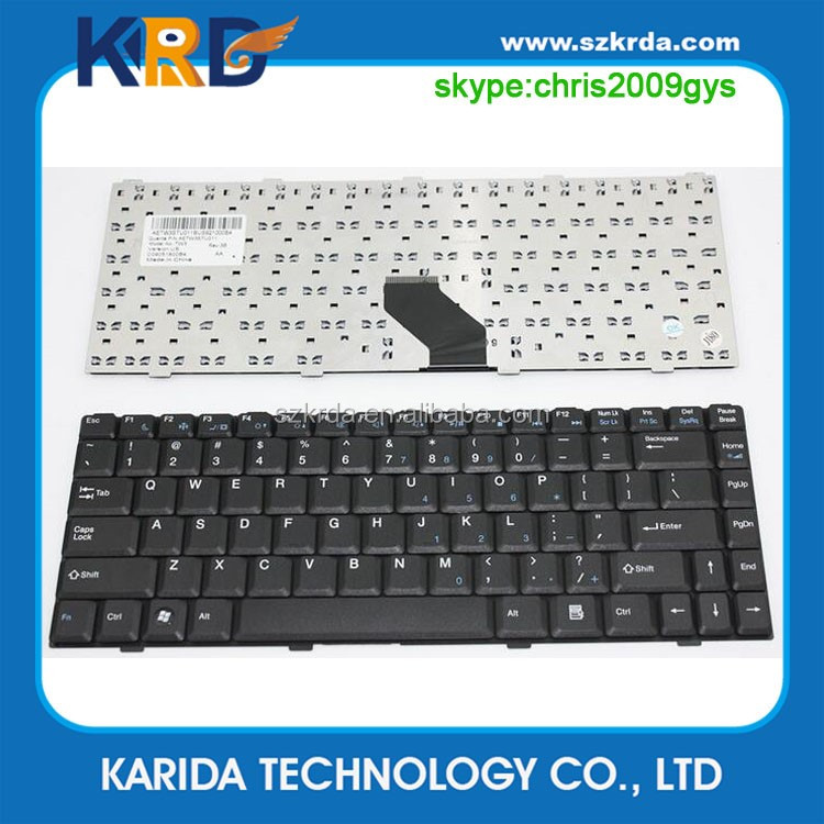 Genuine New laptop internal keyboard for Tsinghua Tongfang V40A V40G K42 K300 K462 K4 KH41 notebook US layout