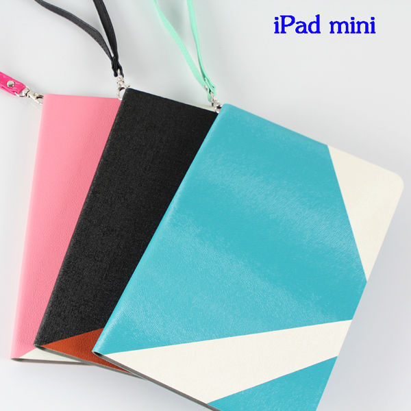 fancy fashion China wholesale leather case for ipad mini2