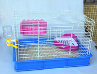 Durable Large space steel wire rabbit cages/welded pet cages wire mesh for hotsale