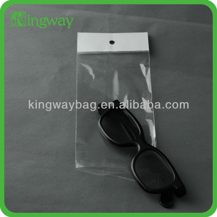 small adhesive heat seal for food custom with handles resealable sterile wholesale opp plastic bag