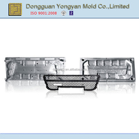 custom high quality injection plastic auto grille mold