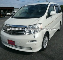 Japanese used cars TOYOTA Alphard Vellfire made in Japan