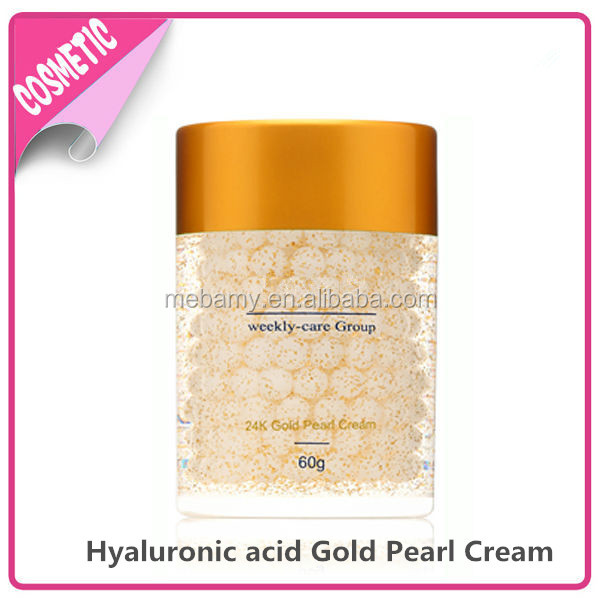 Skin care OEM Hyaluronic acid Gold Pearl Whitening Cream