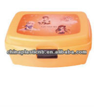 2 compartment take away lunch box sandwich box for promotion