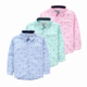 2015 spring children clothing 100% cotton kids shirt for age 2-10Y boy long-sleeve high quality pink&blue fashion formal blouse