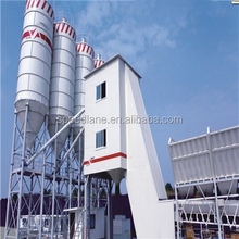 HZS75 Mixing equipment stationary concrete batching plant asphalt batch mixing plant good quality low price
