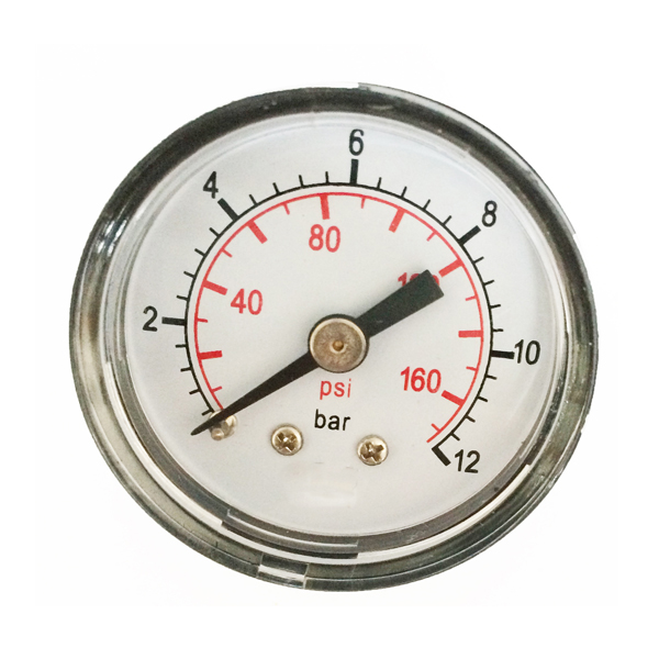 "2"" Brass Movement ABS Case Pressure Gauge"