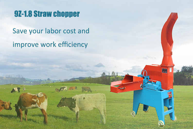 Factory directly supply agriculture fodder cutting machine