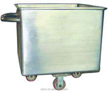 Chinese manufacturer best price retail available stainless steel meat buggy bin