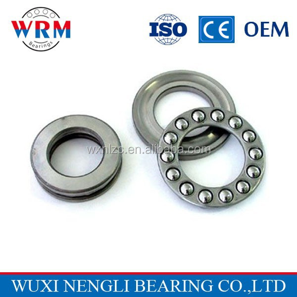 High quality WRM thrust ball bearing 51115 for belt pulley