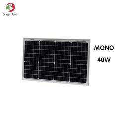 40 watt solar panel system with very competitive price