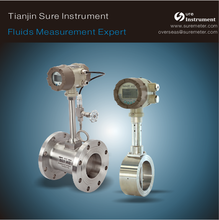 vortex flow meter RS485. 4-20ma/ pulse with flange/wafer connection