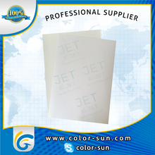 A4 Light Heat Transfer Paper for Tshirt / Mugs / Mouse Pad Sublimation Printing