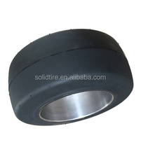 high quality press-on solid forklift tire