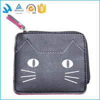 yiwu factory designer leather ladies purse, women purse, wholesale walle