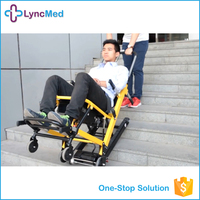 Medical Appliances Comfortable Folding Ambulance Stretcher