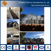 Good insulated corrosion resistance galvanized steel villa home
