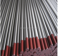 WT20 Tungsten Welding Electrodes/rods/bars with red tips for sale manufacturers in China