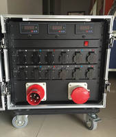 electrical meter control power cabinet