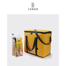 Top Sale Guaranteed Quality Waxed Portable Thermal Wine Cooler Carrier Bag