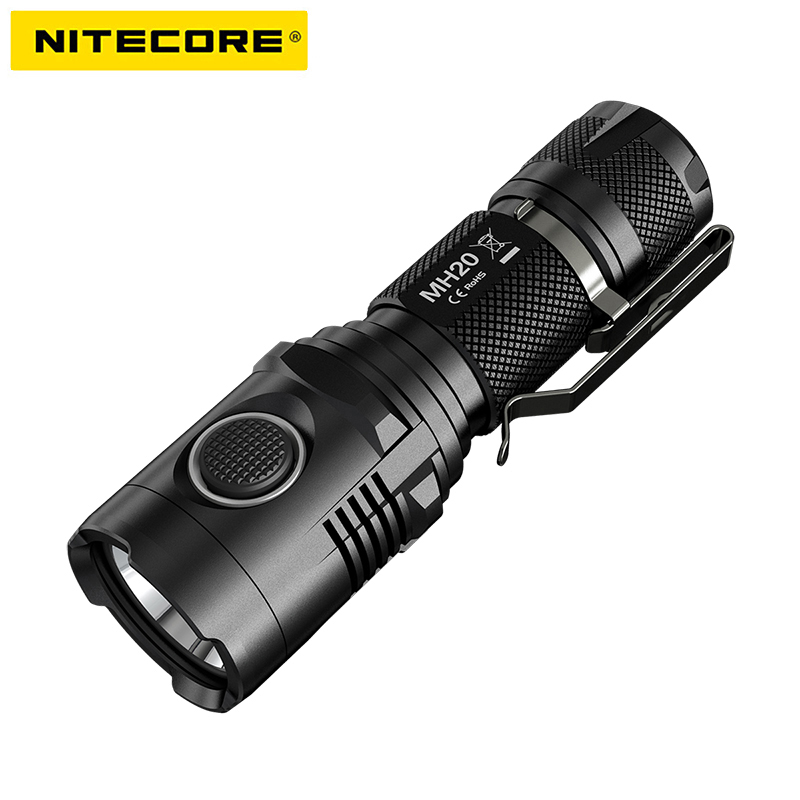 Original NITECORE MH20 LED Flashlight nitecore flashlight for Outdoor Camping Search