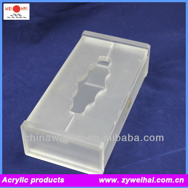 Transparent Acrylic Napkin Holder