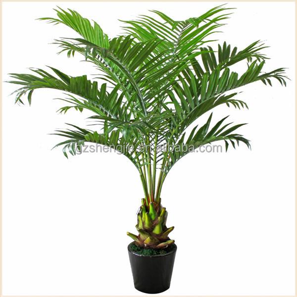 Miniatuur plastic palmboom kunstmatige groene planten voor huisdecoratie kunstmatige bomen - Afbeelding van huisdecoratie ...