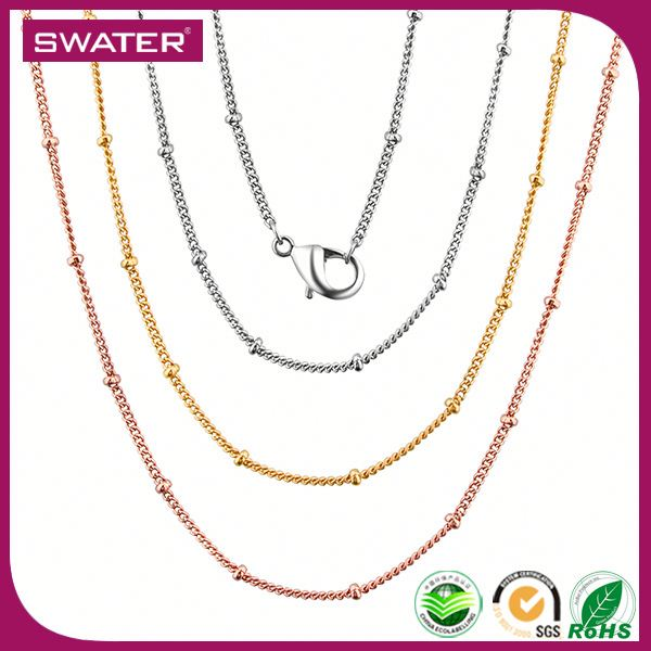 New Technology 2016 Thin Models Of Gold Chains