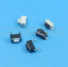 6*6 2pin tactile switch/LED illuminated micro touch switch/normally closed SMD tact switch with cap
