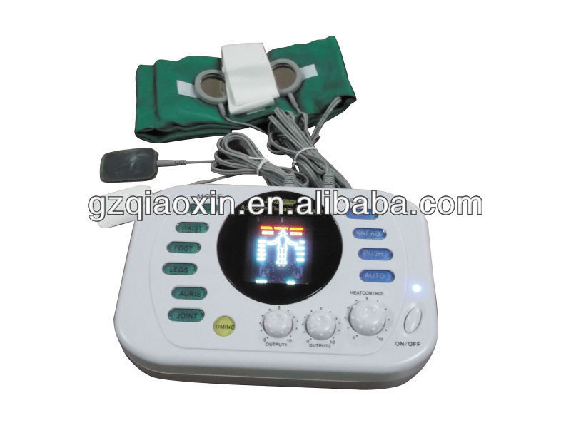 Therapy Device/TENS/EMS in 2013 with LCD Display/Digital Voice for Family/Clinic Use