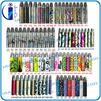 Shenzhen E cigar factory fast delivery colorful pattern ego-v v2 mega 1200mah variable voltage battery most popular in t