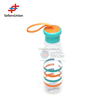 No.1 yiwu exporting commision agent wanted new strap design colors sports water bottle 1 dollar items agent required 600ml/500ml