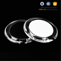 Ultra slim QI breathing LED design DC 9V 2A input wireless charger