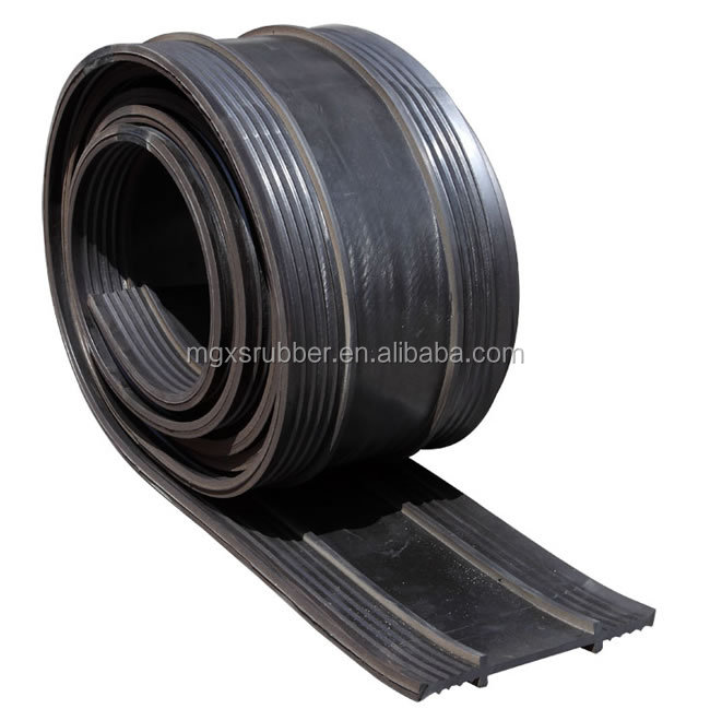 MX-651/280 good quality natural rubber black water stop in concrete