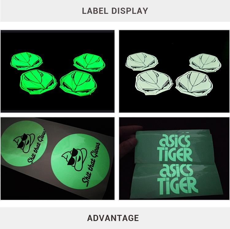 Wall Sticker Glow in the Dark,Party Decoration Label Sticker Glow in Dark