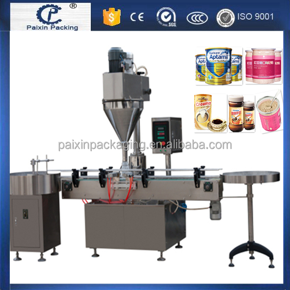 shanghai factory powder packing machine for bottles/bags CE standard filler