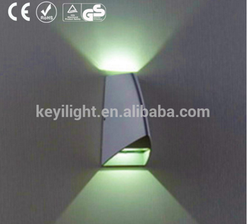 New design auminum surface mounted ip54 waterproof flexible led outdoor wall light from kors