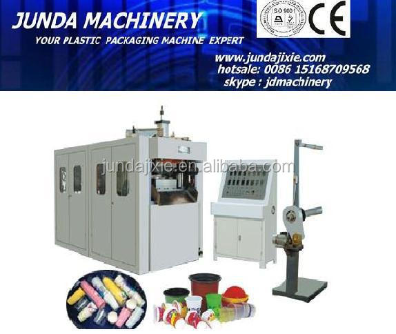 automatic plastic cup thermoforming machine/disposable cup making machine/cup forming machine