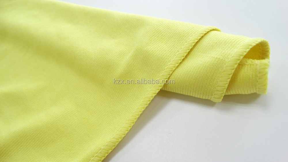 Yellow microfiber glass cleaning cloth