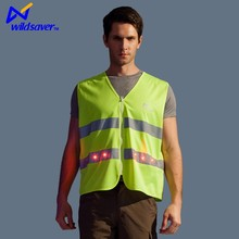 Factory supply Flashing LED Reflective Clothing <strong>Safety</strong>