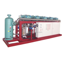 BITZER/HANBELL/FUSHENG Water Cooling Screw Compressor Parallel Condensing Unit
