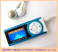 Small Screen MP3 MP4 Player with LCD Screen and LED Light