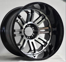 Guangzhou factory car parts 6x139.7 rims for 4X4 car tires wheel