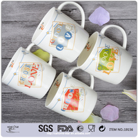 cheap price bulk ceramic mugs in hunan