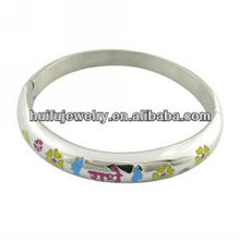 Fashion 316L surgical stainless steel jewelry enamel bracelets bangles bangle