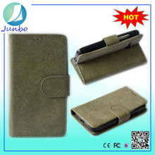 Top sale Genuine fashionable leather wallet phone cover case for nokia xl