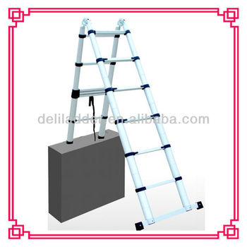 echelle telescopique buy echelle telescopique telescopic lightweight ladders aluminum. Black Bedroom Furniture Sets. Home Design Ideas