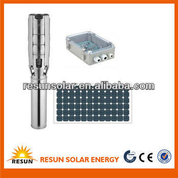solar DC water pump system with capacity for farming from China best price
