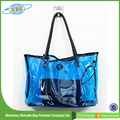 Hot Sale Lady Large Shoulder Bag ,Colored Pvc Bag